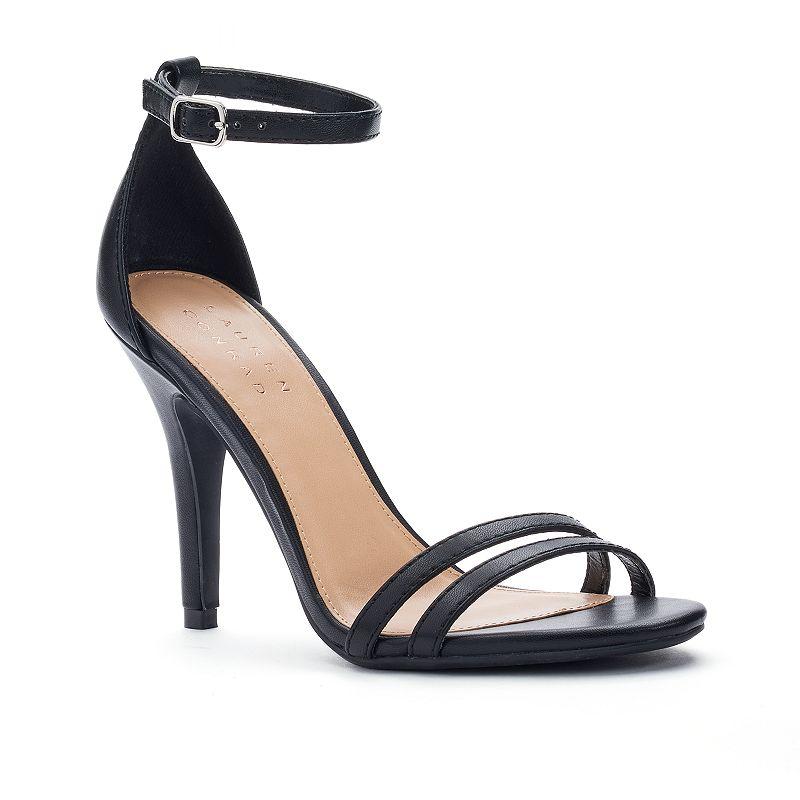 LC Lauren Conrad Runway Collection Ankle Strap Women's High Heels
