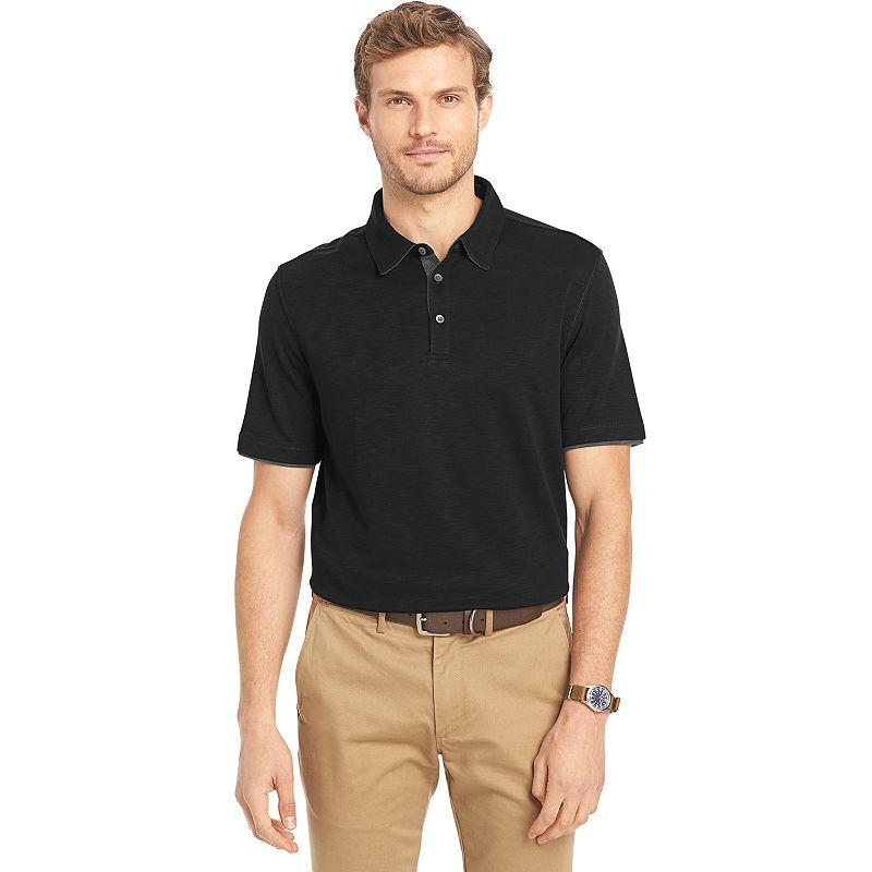 Men's Van Heusen Classic-Fit Self-Collar Polo
