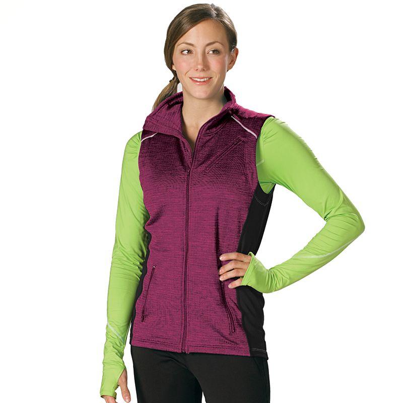 Women's Stonewear Designs Victory Full-Zip Fleece Workout Vest