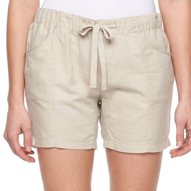 Women's Columbia Bonifay Brook Linen Blend Shorts
