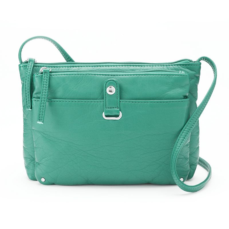 Candie's® Adrienne Washed Crossbody Bag