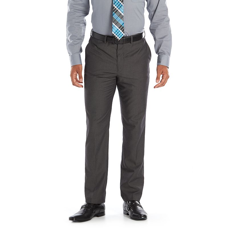 Men's Andrew Fezza Slim-Fit Gray Suit Pants
