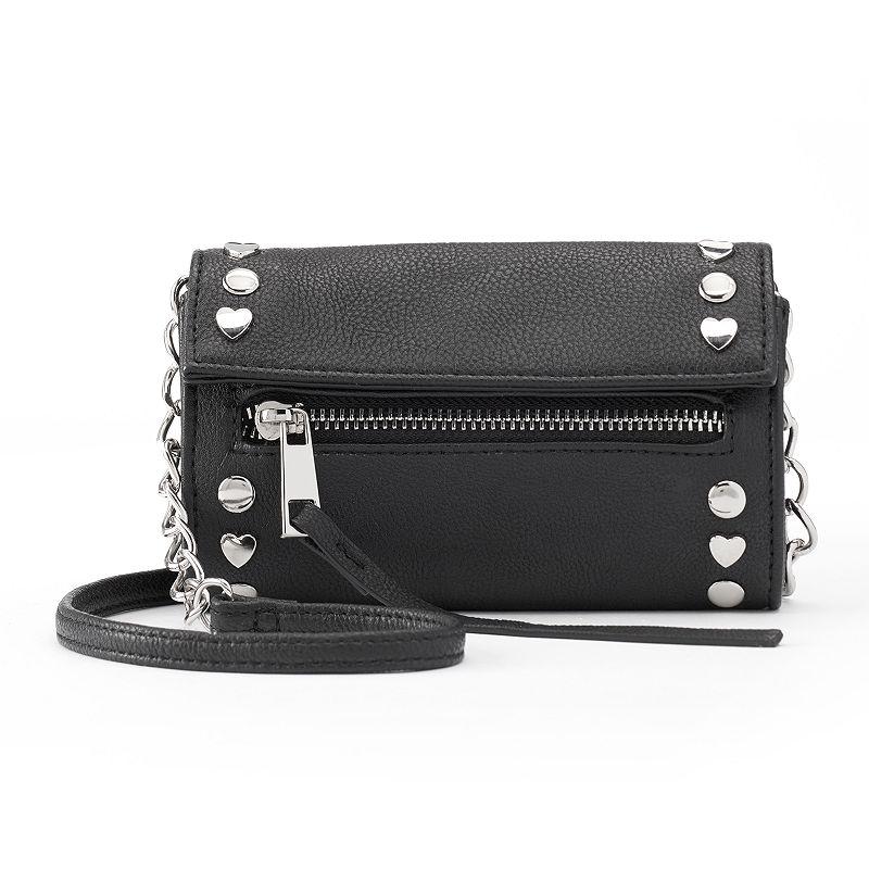 Candie's® Whitney Fold Over Mini Crossbody Bag