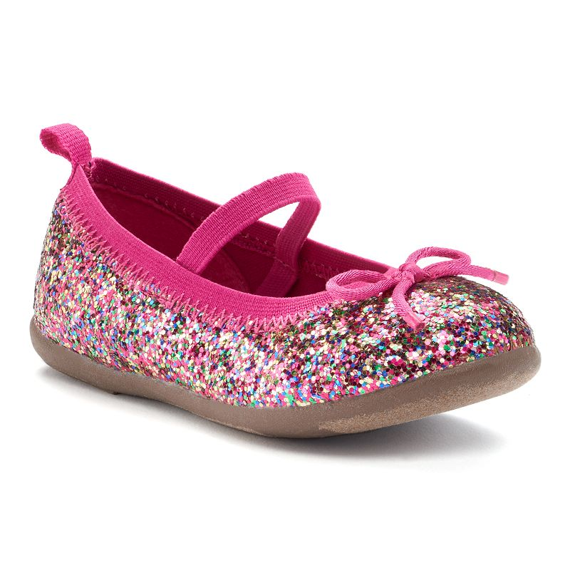 Skechers Skech Air Glitzy Fitz Girls Mary Jane Slip On Shoes