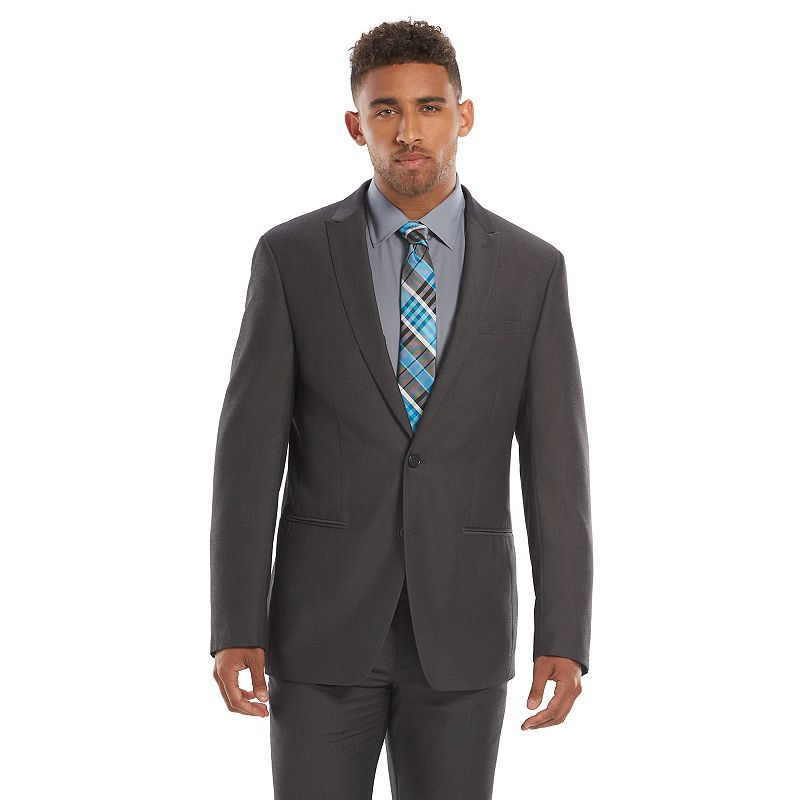 Men's Andrew Fezza Slim-Fit Gray Suit Jacket