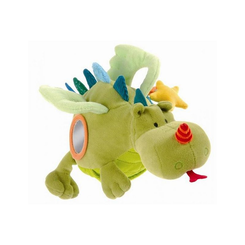 Walter Acti-Dragon Interactive Rattle Toy by Lilliputiens