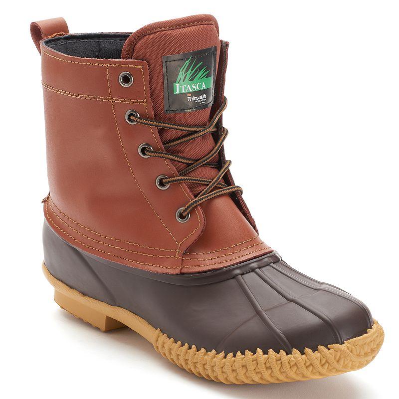 Itasca Ely 5 Eye Men's Waterproof Winter Boots