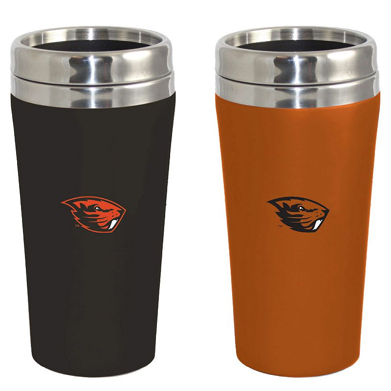 Oregon State Beavers 2-Pack Travel Tumbler Set