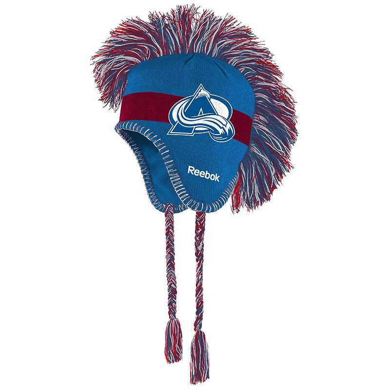 Youth Reebok Colorado Avalanche Mohawk Knit Cap