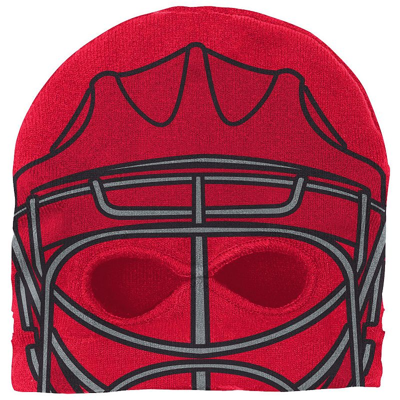 Youth Reebok Washington Capitals Mask Knit Cap