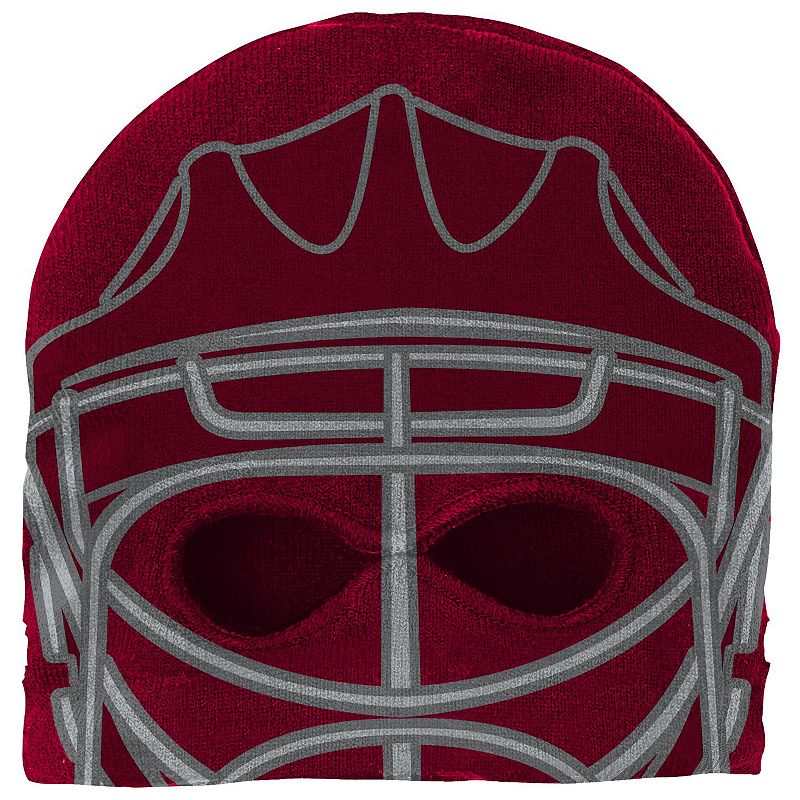 Youth Reebok Colorado Avalanche Mask Knit Cap