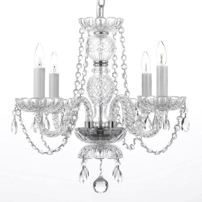 Gallery Venetian Style Swarovski Crystal 4-Light Chandelier