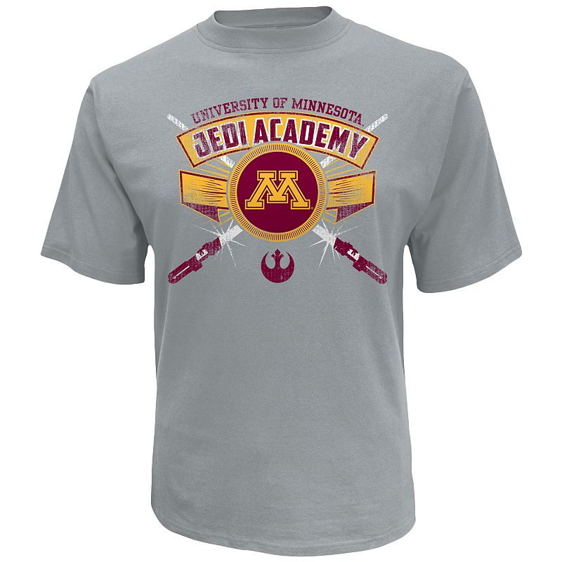Men's Minnesota Golden Gophers Star Wars Jedi Academy Tee