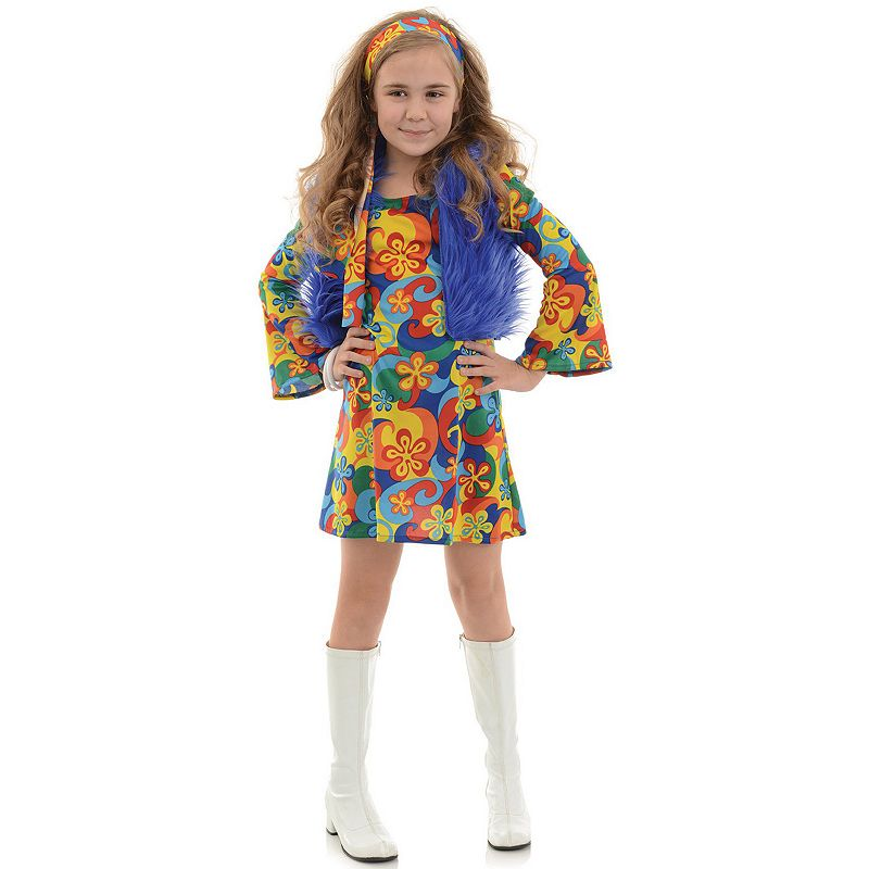 Far Out Disco Girl Costume - Kids