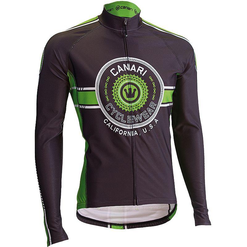 Men's Canari Shift Full-Zip Bicycle Jersey
