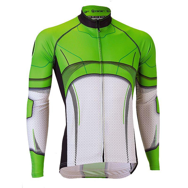 Men's Canari Treader Full-Zip Bicycle Jersey