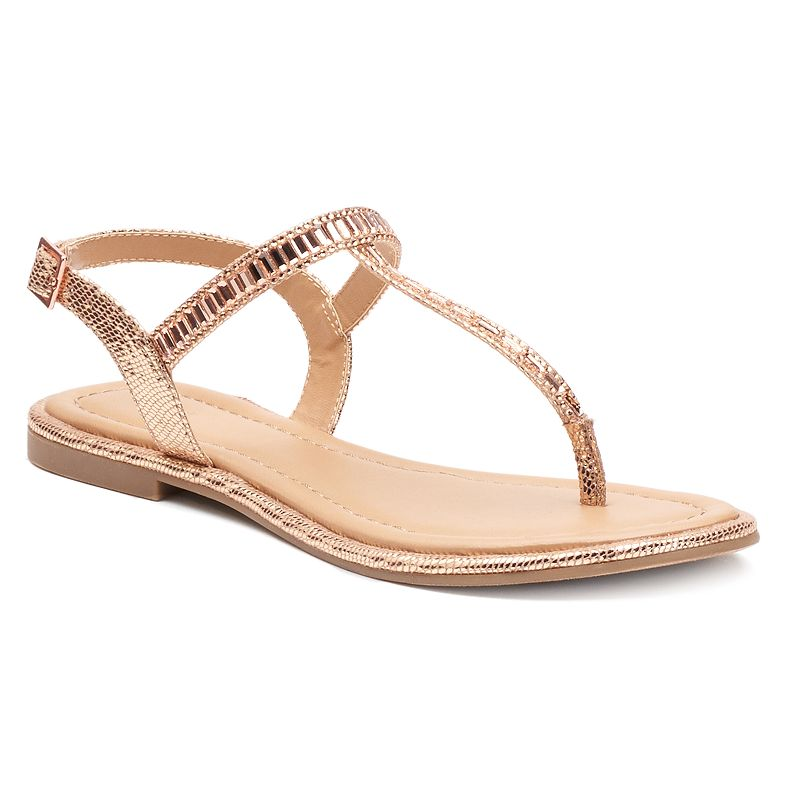 Apt. 9® Women's Sparkle Thong Sandals