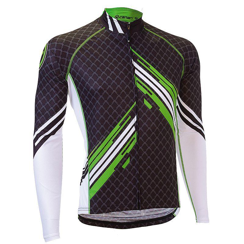 Men's Canari Avalanche Full-Zip Bicycle Jersey