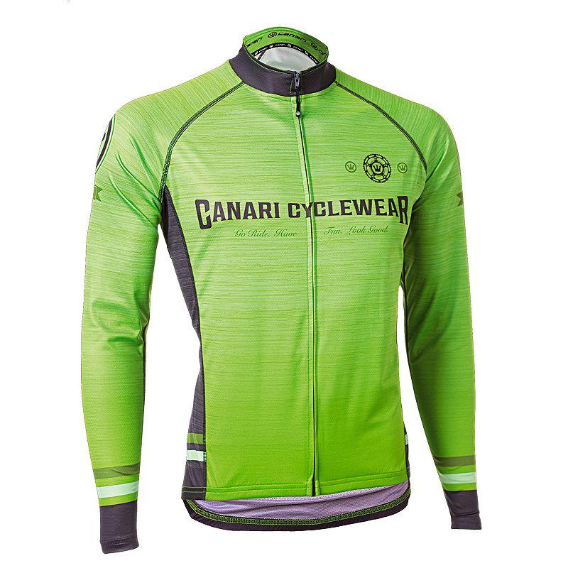 Men's Canari Theon Full-Zip Bicycle Jersey