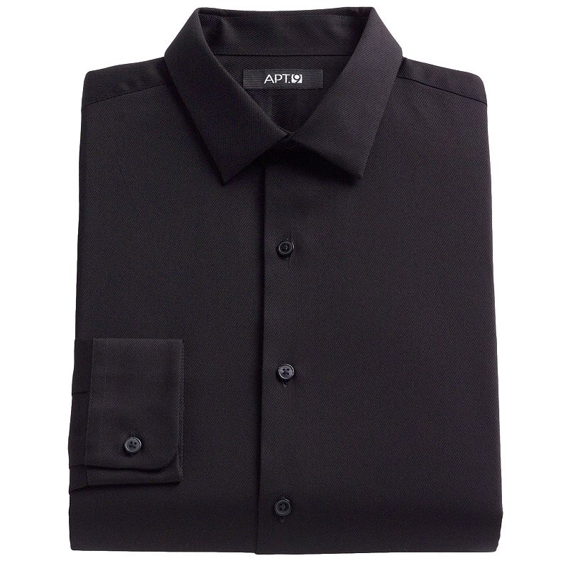 Mens Textured Dress Shirt Kohl 39 S