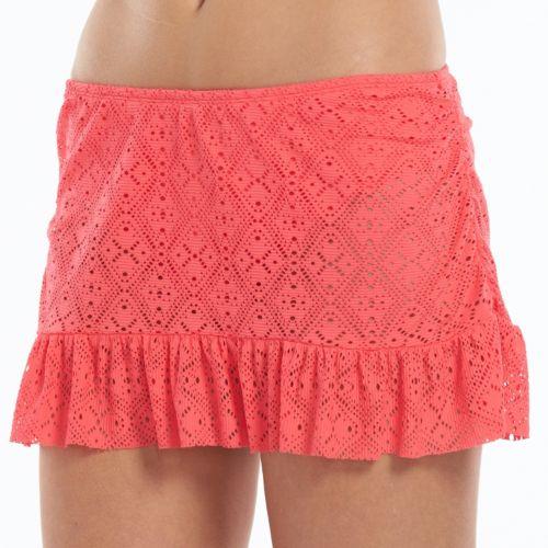 Women's Apt. 9® Crochet Ruffle Skirtini Bottoms