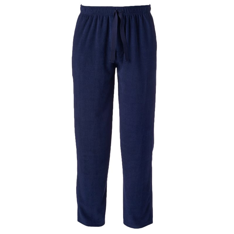 Men's Chaps Solid Microfleece Lounge Pants