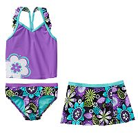 ZeroXposur Girls 4-6x Tankini Swimsuit Set