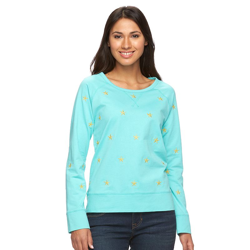 Women's Caribbean Joe Raglan Sweater