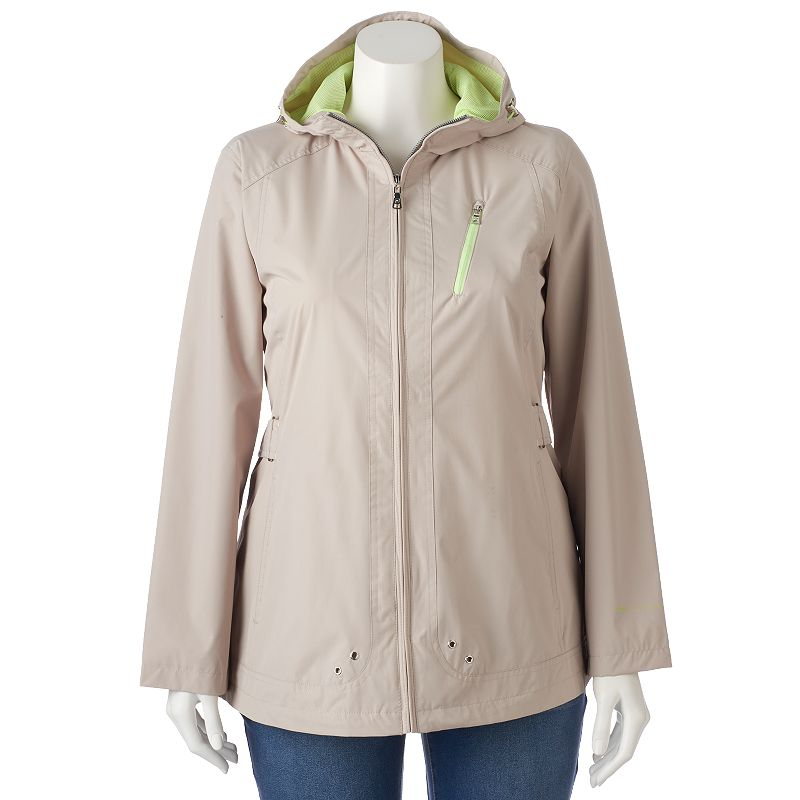 Plus Size Free Country Radiance Hooded Anorak Jacket