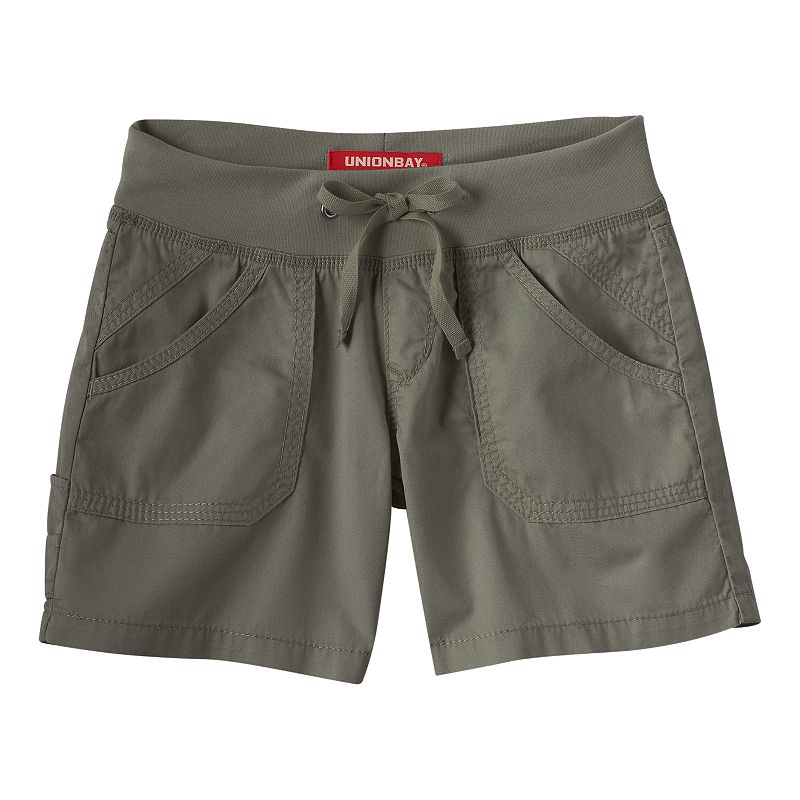Girls 7-16 Unionbay Laurie Knit Shorts
