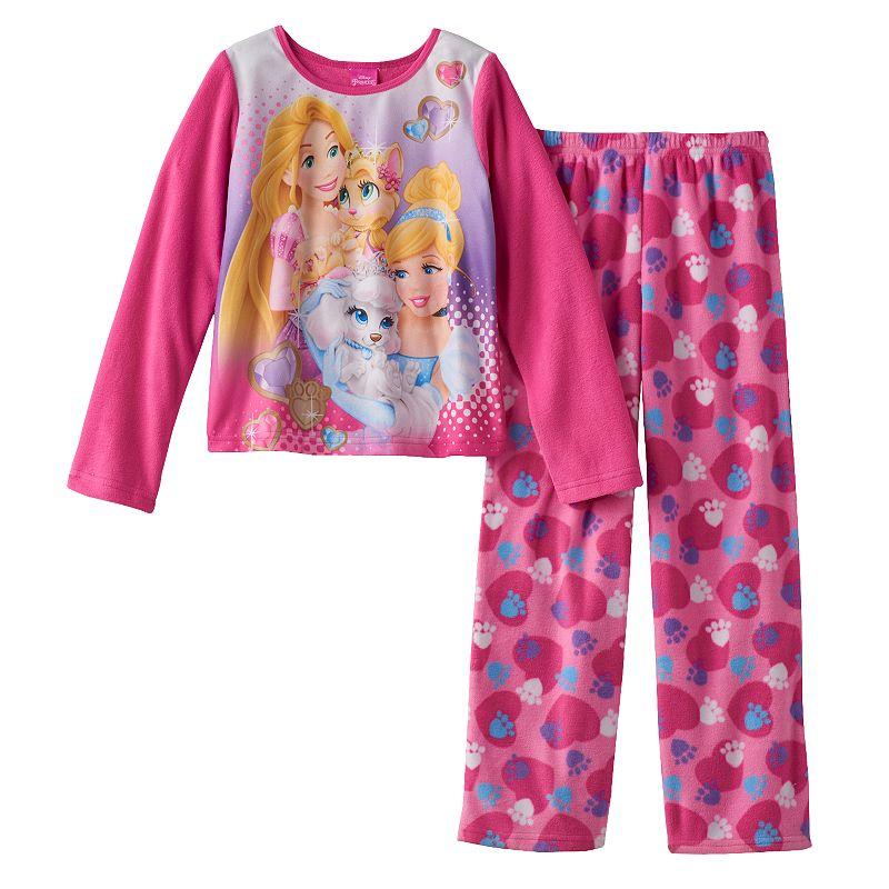 Disney Princess & Palace Pets Fleece Pajama Set - Girls 4-10
