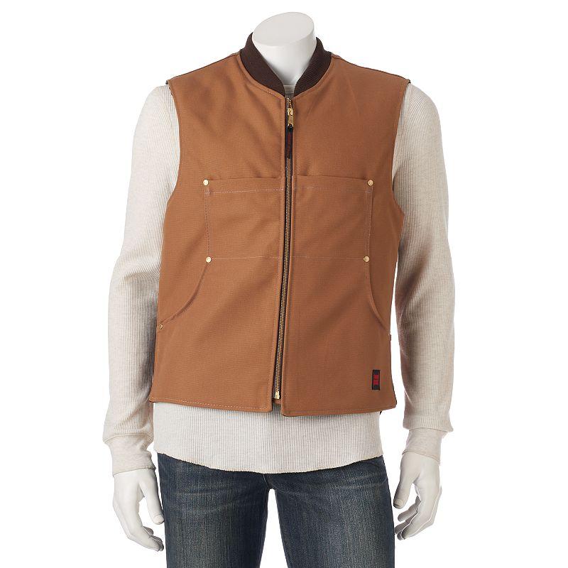 Men's Tough Duck Quilt Lined Vest