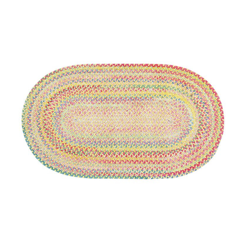 Capel Baby's Breath Reversible Braided Rug