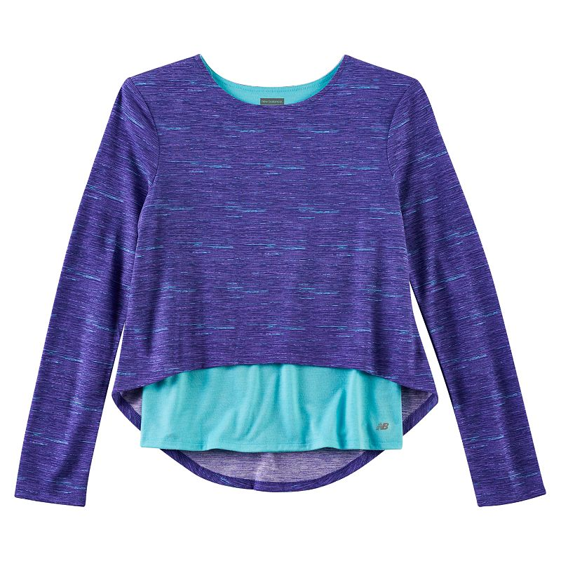 New Balance Mock-Layer Top - Girls 4-6x