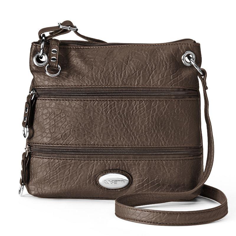 Rosetti Demi Zips Colorblock Crossbody Bag