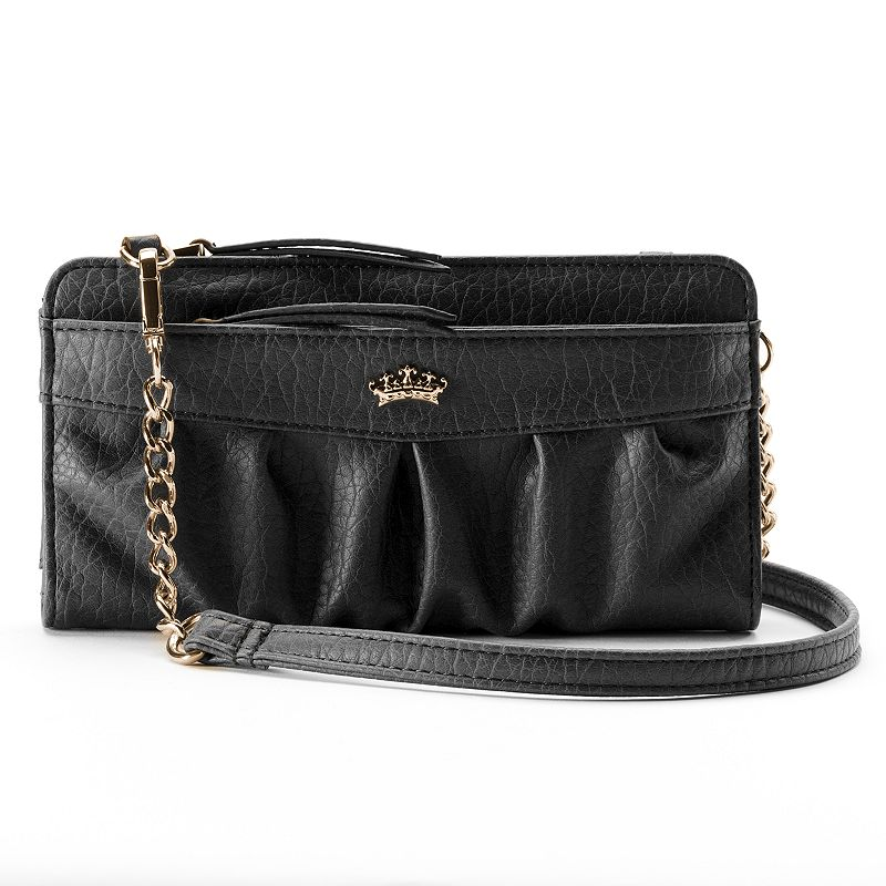 Juicy Couture Zip Convertible Wristlet Wallet
