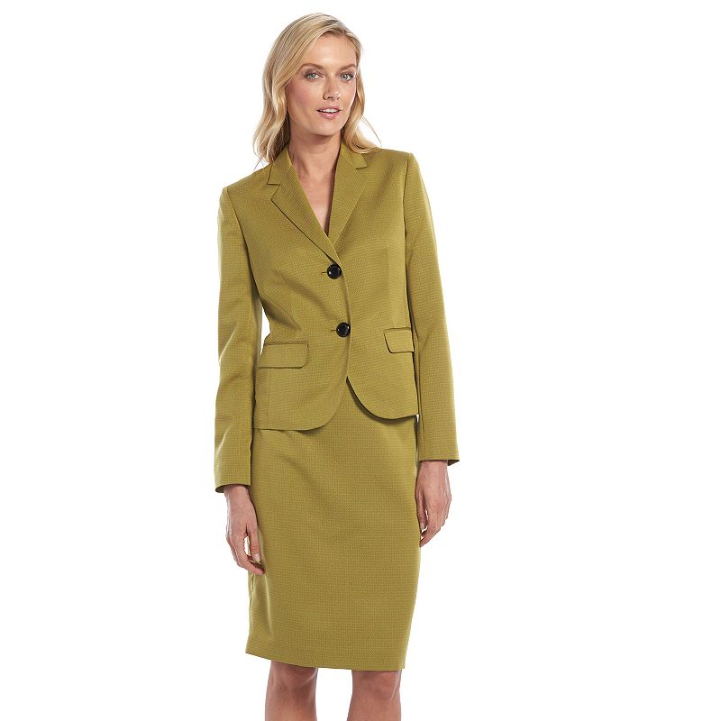 Women's Gloria Vanderbilt Suit Jacket & Skirt Set