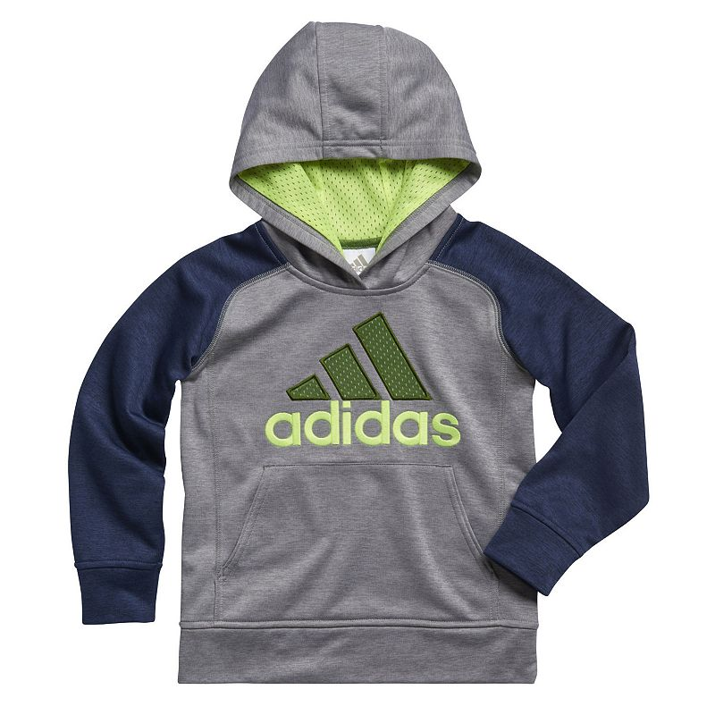 adidas Boys 4-7x Play Time Hoodie