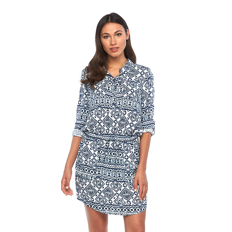 Women's SONOMA Goods for Life™ Print Shirtdress