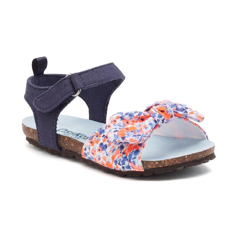OshKosh B'gosh® Toddler Girls' Bow Sandals
