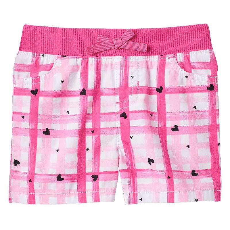 Baby Girl Jumping Beans® Printed Shorts