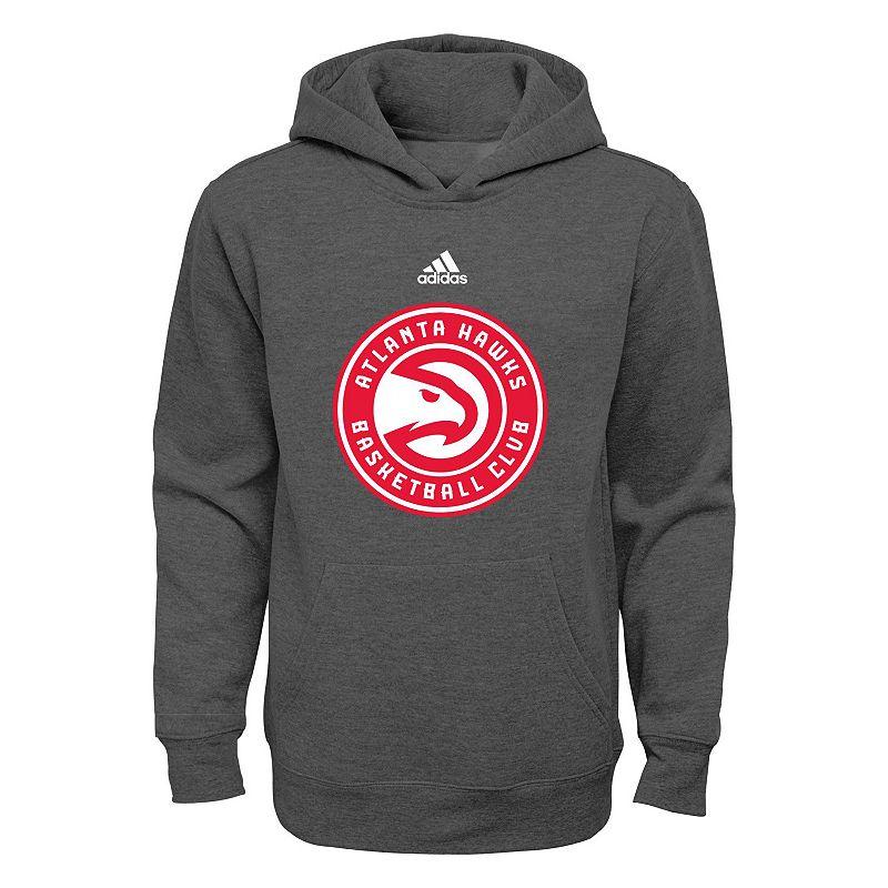 Boys 8-20 adidas Atlanta Hawks Prime Pullover Fleece Hoodie