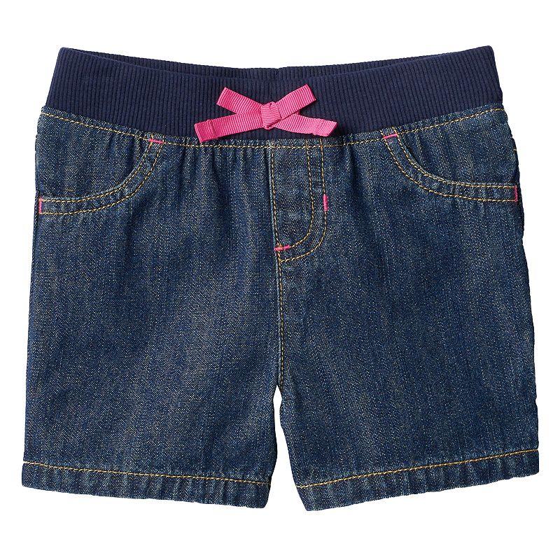 Baby Girl Jumping Beans® Jean Shorts