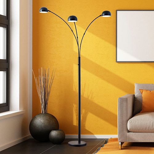 Adesso Domino Arc Floor Lamp