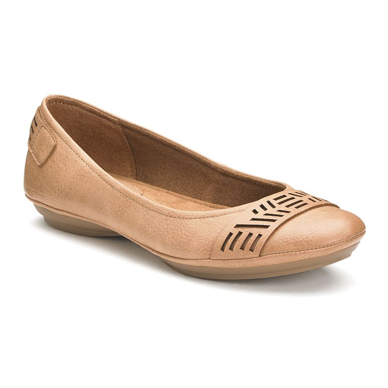 Croft & Barrow® Women's Toe Strap Ballet Flats