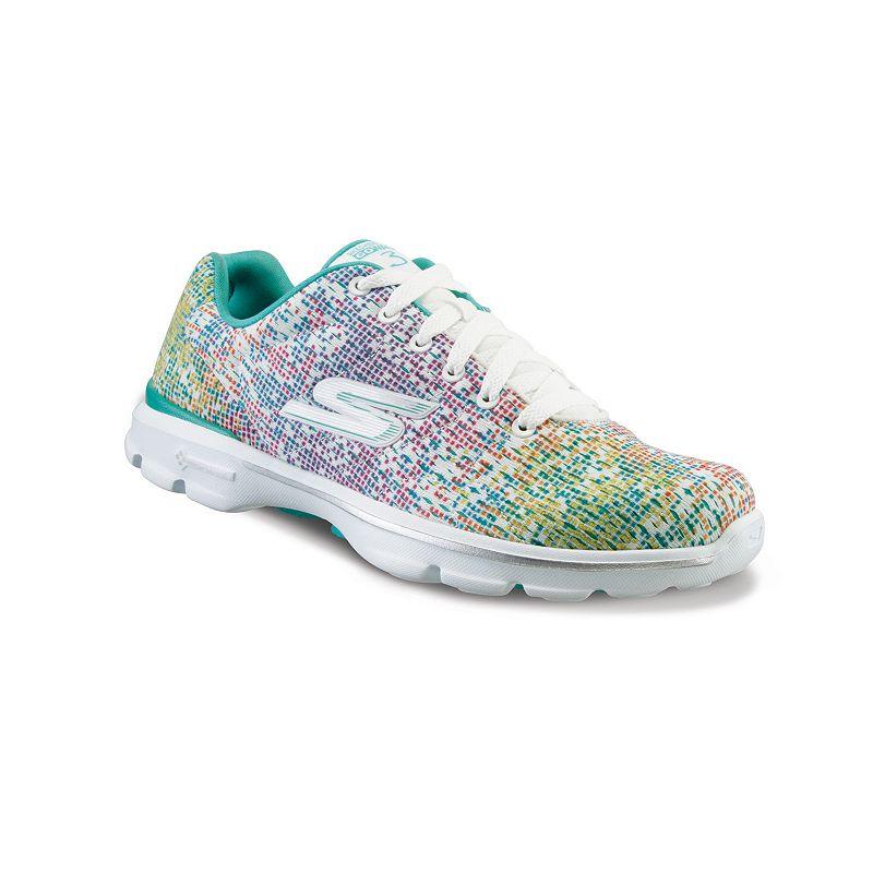 Skechers Gowalk  Pulse Women S Walking Shoes Grey Aqua