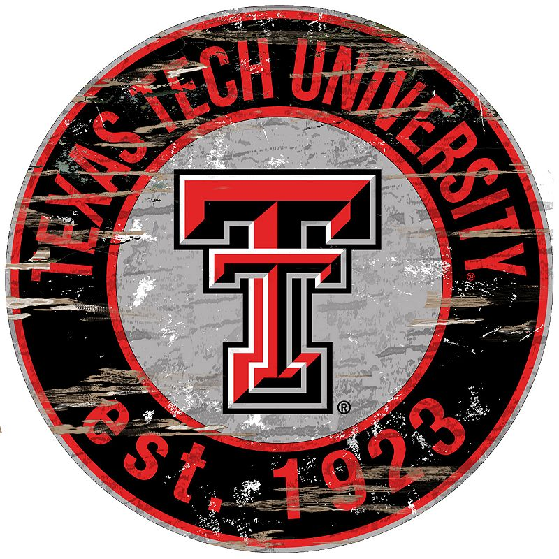 Texas Tech Red Raiders Distressed 24