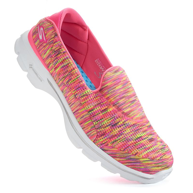 Skechers GOwalk 3 Crazed Women's Slip-On Shoes