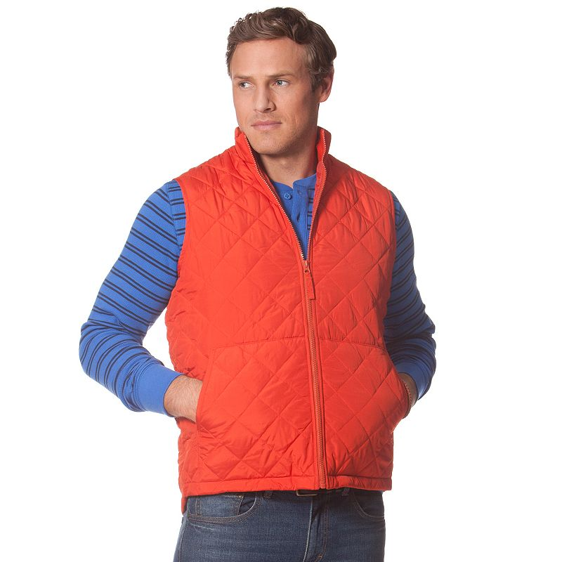 Big & Tall Chaps Quilted Vest