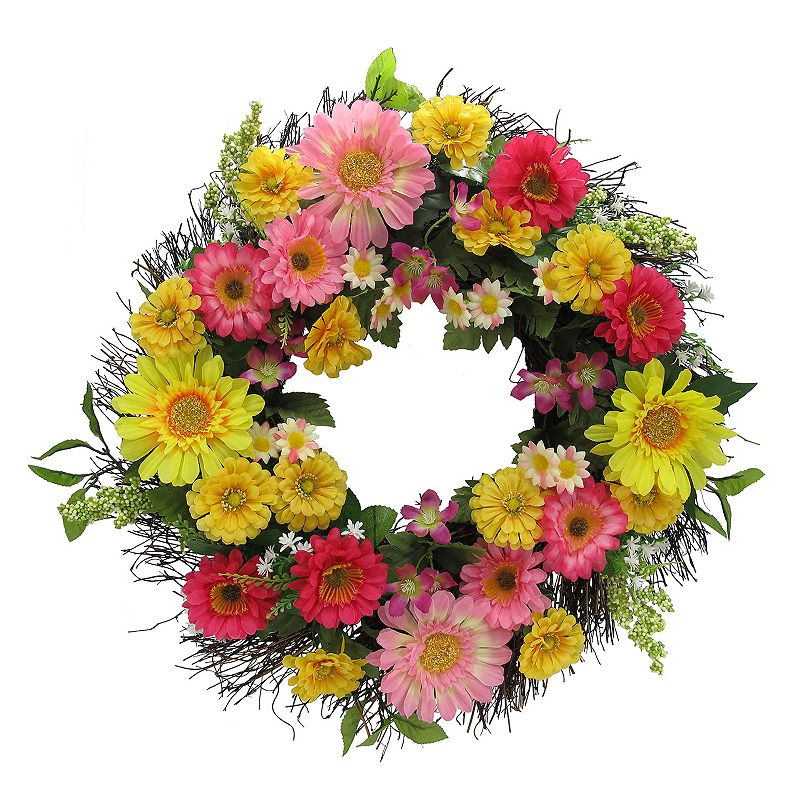 SONOMA life + style® Artificial Spring Floral Wreath